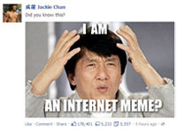 Jackie Chan Brings Meme To Full Circle