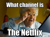 Grandma Discovers the Internet