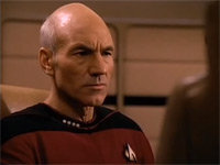 "Captain Picard Sings ""Let It Snow"""
