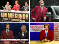 Ron Burgundy is Leaking Everywhere