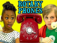 Kids Utterly Confused By Rotary Phones