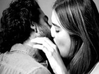 Strangers Passionately Kiss Each Other