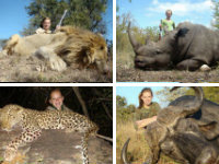 Texas Teen's Safari Hunting Pics Spark Anger