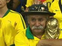 Brazil's Saddest Fan at the World Cup