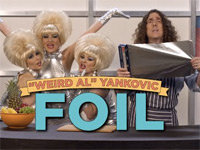 "Weird Al's ""FOIL"" Spoofs Lorde's ""Royals"""