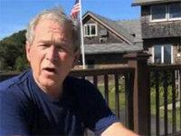 George W. Bush Does the Ice Bucket Challenge