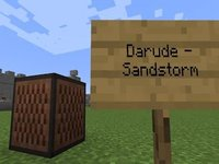 """""""Sandstorm"""" Played with <i>Minecraft</i> Note Blocks"""