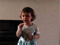 Irish Girl Yells at Mom for Interrupting Her Show