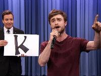 Daniel Radcliffe Raps From A to Z