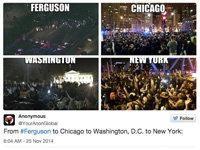 #FergusonDecision Sparks Nationwide Protests