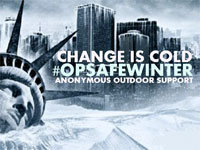 Anonymous Stays Committed to #OpSafeWinter