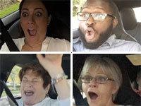 "Passengers React to Tesla's ""Insane Mode"""