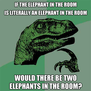 Philosoraptor: Counting Elephants