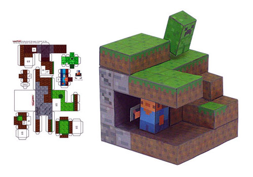 Make Your Own Minecraft Papercraft