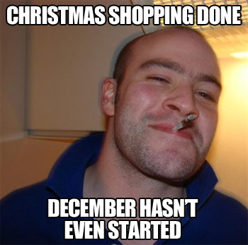 Good Guy Greg Prepares in Advance