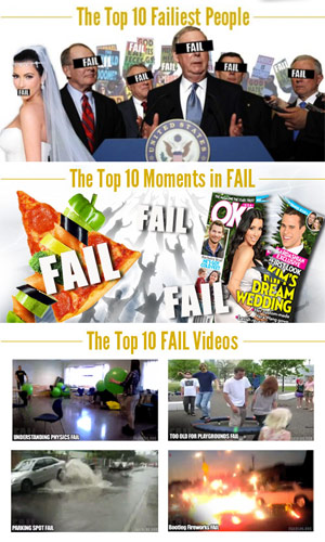 FAIL Blog: Top Ten FAILs of the Year