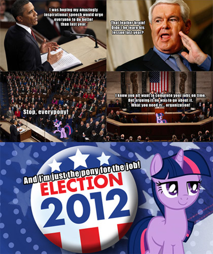 Super PAC for Twilight Sparkle