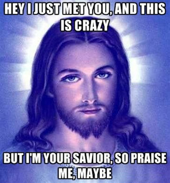 Call Me Maybe: Jesus Edition