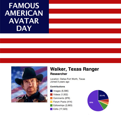"""Famous American"" Profile Day"