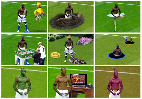 KYM Gallery: Mario Balotelli Photoshop