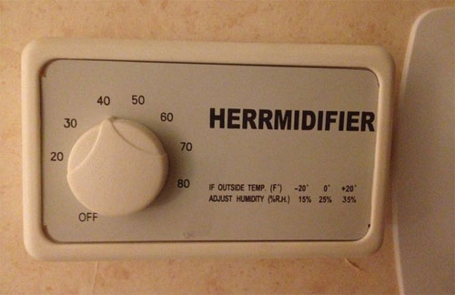 Ermahgerd: Humidification Edition