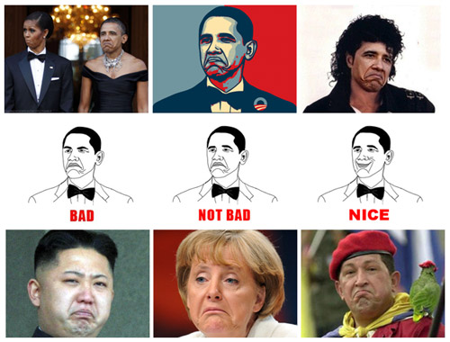 KYM Gallery: Obama's Not Bad Face