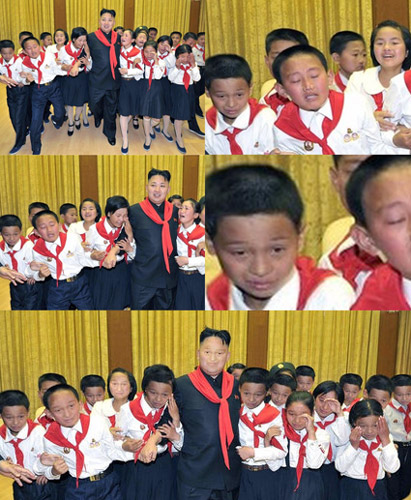 Tenso: North Korean Photo Op Edition