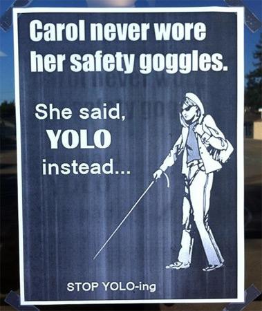 YOLO Made Carol Go Blind