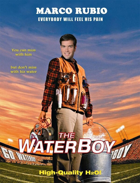 Marco Rubio: The Waterboy