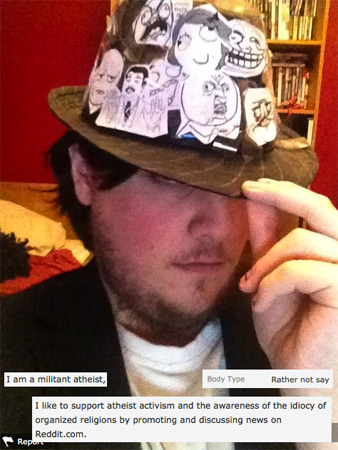 Fedoras of OkCupid: Rage Comic Edition