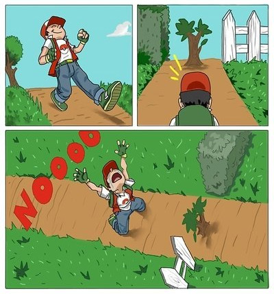 One Does Not Simply Walk around a Tree