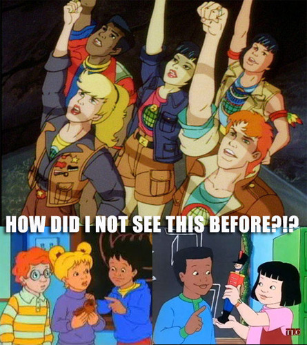 Magic School Bus and the Planeteers