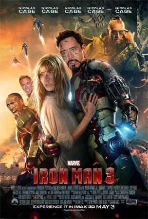 Nic Cage Does Iron Man 3