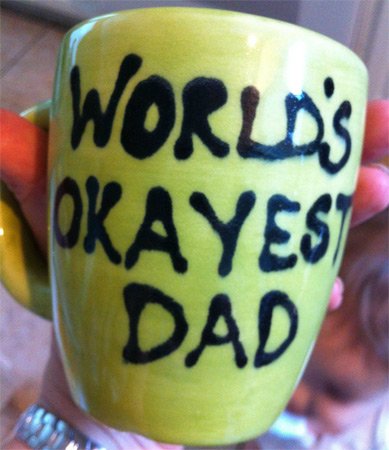 Nailed It: Father's Day Gift Mug