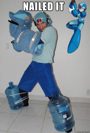 MegaMan Cosplay: You're Doing It Right