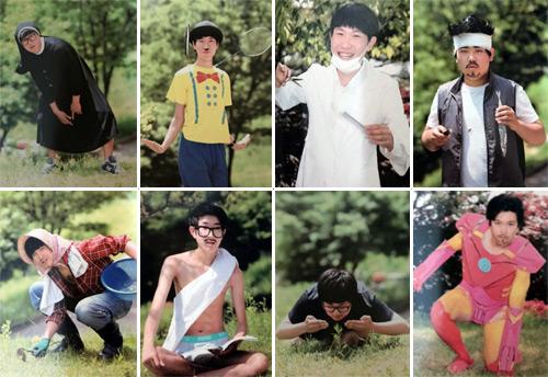 Korean High School Cosplay Yearbook
