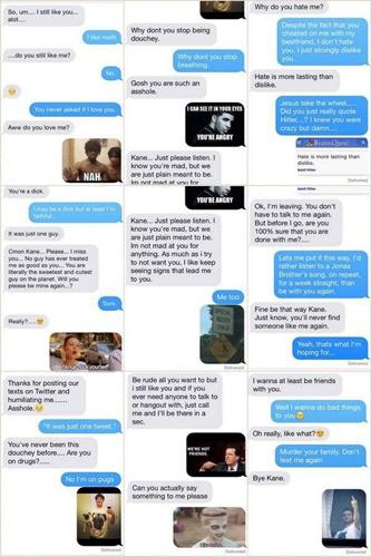 Teen Gets the Last Laugh via Breakup Text