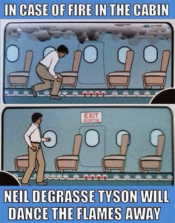 Don't Panic, Neil deGrasse Tyson Is Here