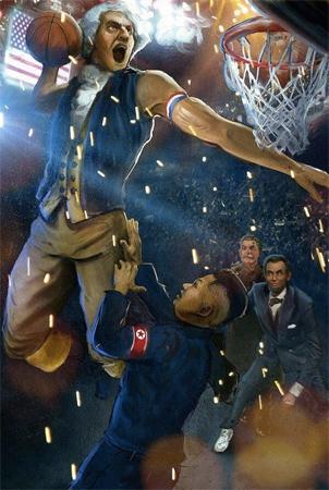 George Washington's Slamming Freedom