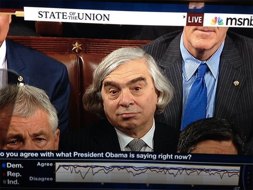 Ernest Moniz Steals Show at State of the Union