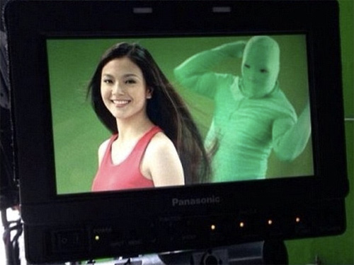 Behind the Scene of a Shampoo Commercial