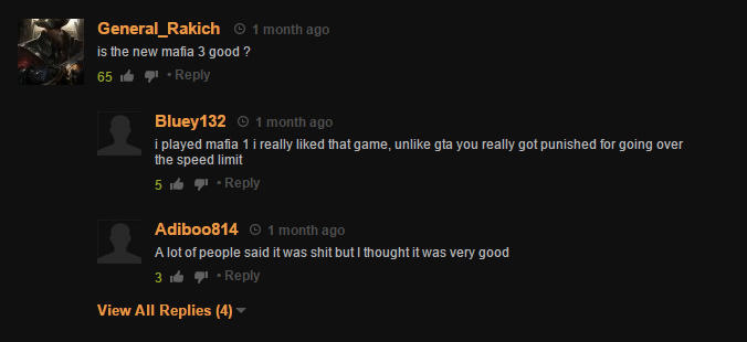 Pornhub, Where Real Gamers Discuss Games