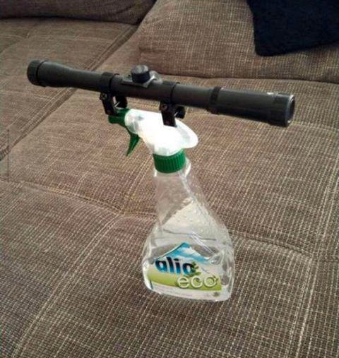 Tacticool Multi-Surface Cleaner With a Scope