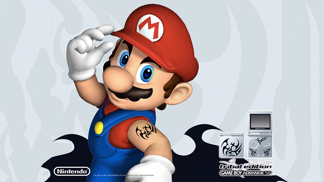 Did You Know: Mario Got a Tribal Tattoo in 2004