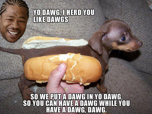 Yo Dawg Hot Dog