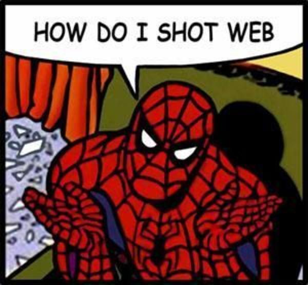 lol didn t read meme spiderman