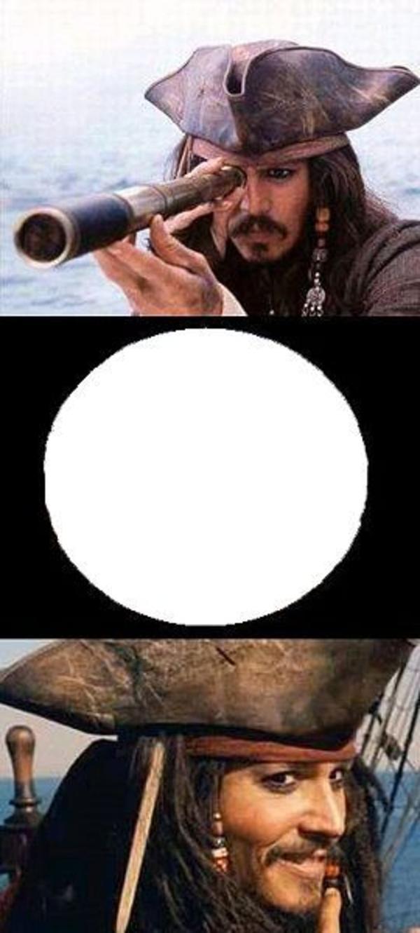 Funny Meme Template : Image jack sparrow reaction know your meme