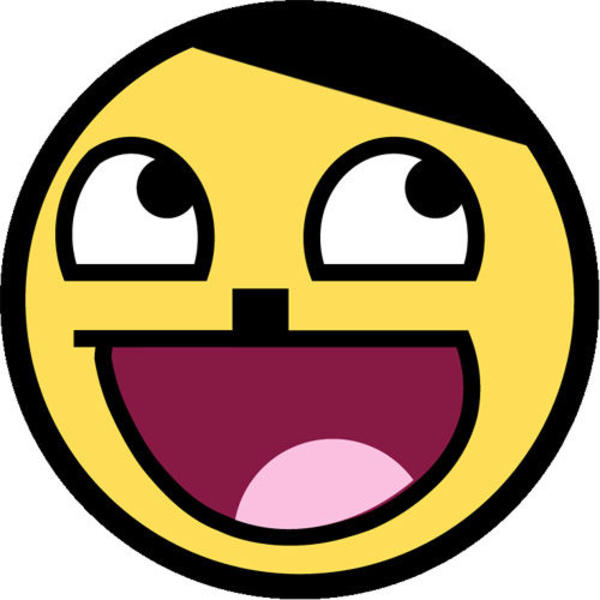 Awesome face epic smiley know your meme examples voltagebd Image collections