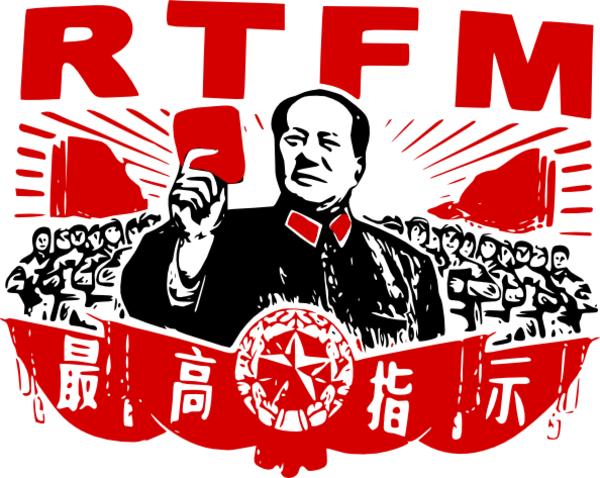 Image result for rtfm