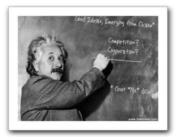 Image 24131 Einstein Blackboard Know Your Meme
